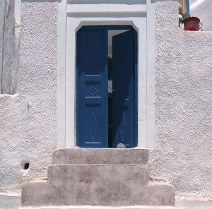 Door - Santorini, Greece