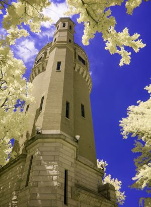 07 Water Tower - Infrared